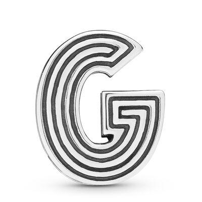 Pandora Reflexions™ Letter G Clip Charm