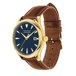 Movado Heritage Series Calendoplan Yellow Ion Watch