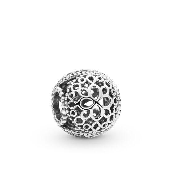 Pandora Openwork Flower Charm