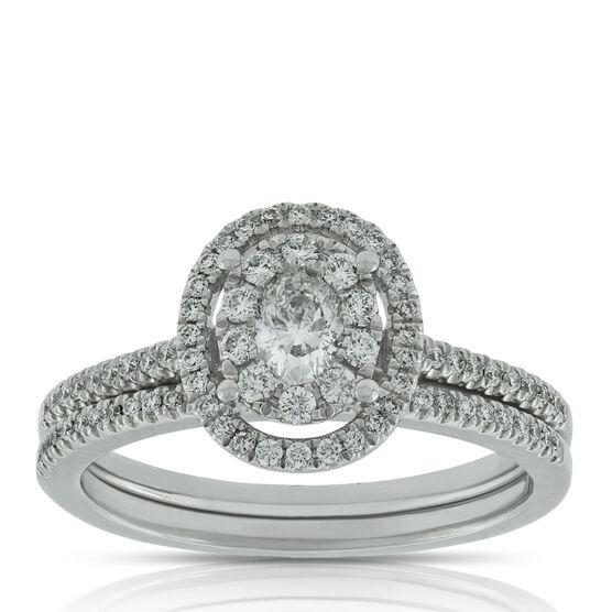Diamond Bridal Set 14K, 1/2 ctw.