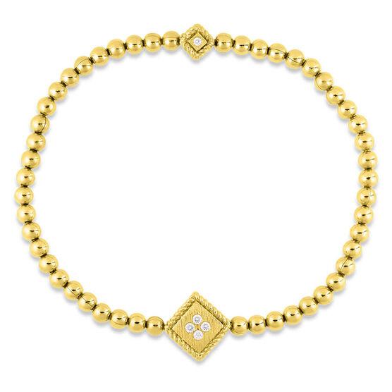 Roberto Coin Palazzo Ducale Diamond Bracelet 18K