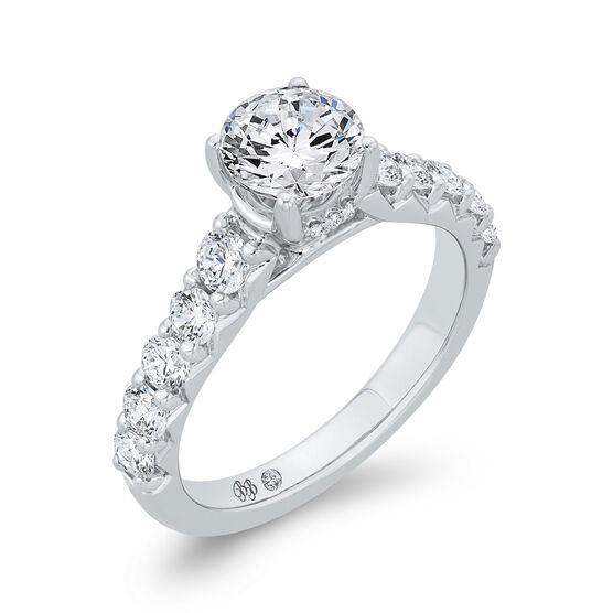 Bella Ponte Engagement Ring Setting in Platinum