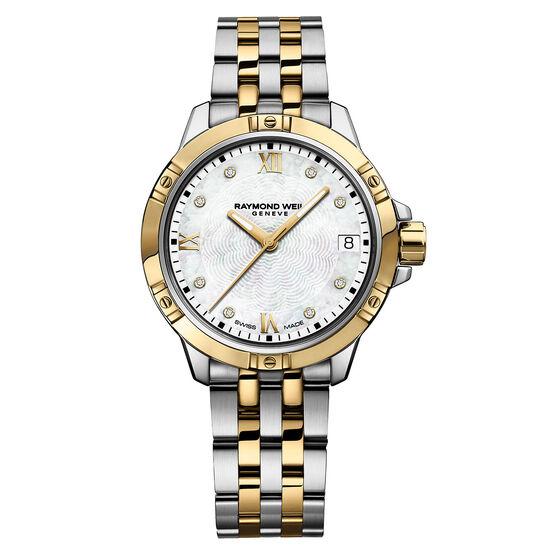 Raymond Weil Tango Two-Tone Diamond Dial Watch, 30mm