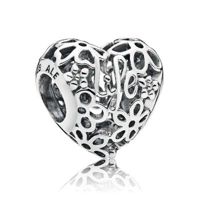 Pandora Promise of Spring Charm