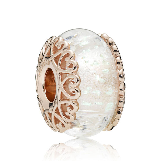Pandora Rose™ Iridescent White Murano Glass Charm
