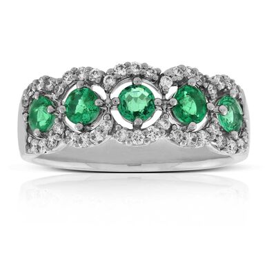 jewelry two emerald watches emrald product created gold yellow ring stone rings oravo carats