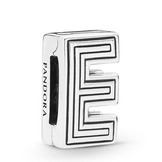 Pandora Reflexions™ Letter E Clip Charm