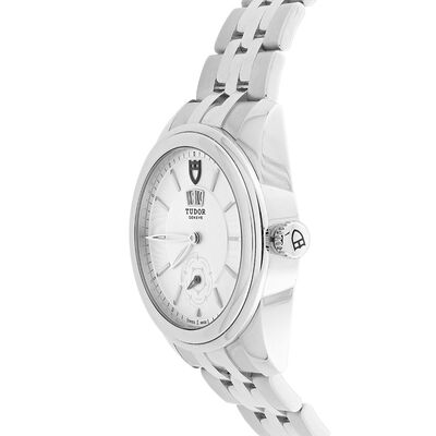 Pre-Owned TUDOR Glamour Silver Dial Watch, 42mm