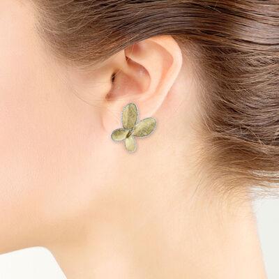 Toscano Butterfly Earrings 14K