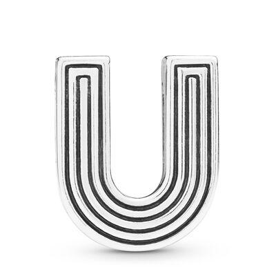 Pandora Reflexions™ Letter U Clip Charm