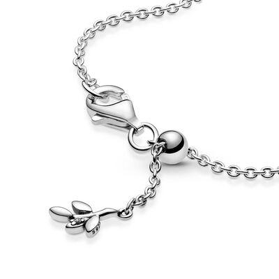 Pandora Heart Family Tree CZ Chain Bracelet