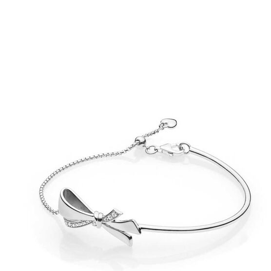 PANDORA Brilliant Bow CZ Bracelet