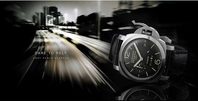 PANERAI Luminor 1950 GMT Acciaio Watch