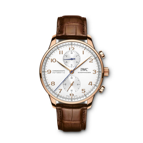 IWC Portugieser Chronograph Watch 18K