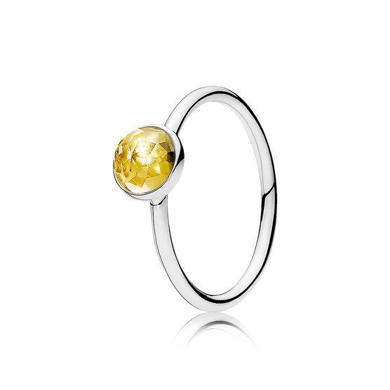 Pandora November Droplet Ring