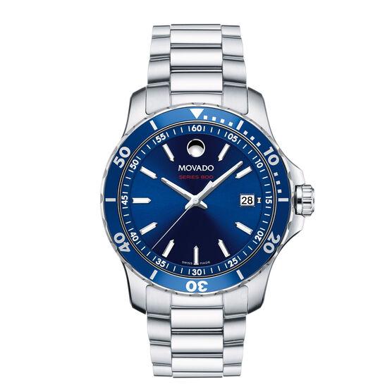 Movado Series 800 Blue Dial Watch