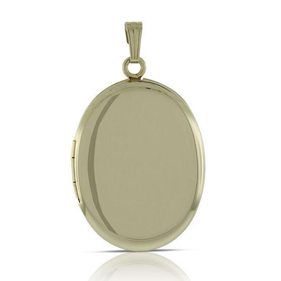 Oval Locket  14K