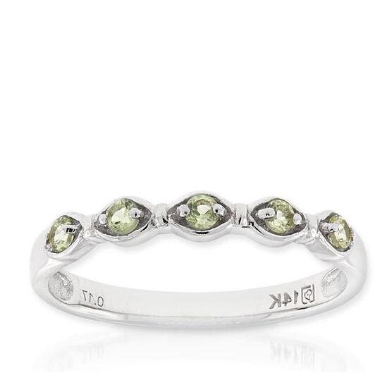 Peridot Ring 14K