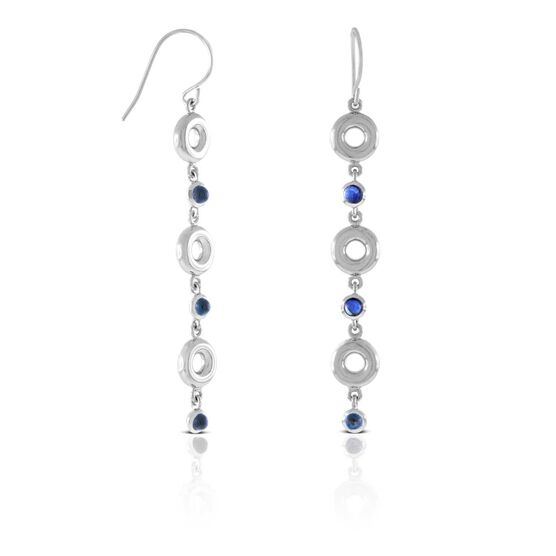 Lisa Bridge Sapphire Bubble Earrings