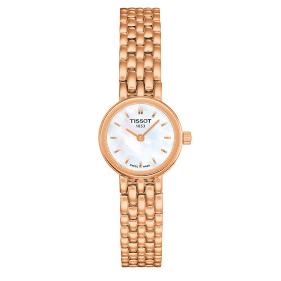 Tissot Lovely T-Lady Rose Gold PVD  Quartz Watch