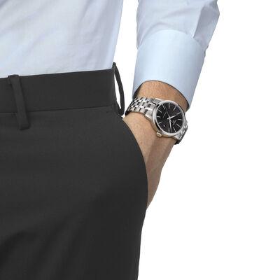 Tissot Classic Dream Swissmatic Black Dial Steel Watch, 42mm