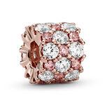 Pandora Pink & Clear CZ Sparkle Charm