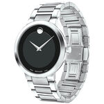 Movado Modern Classic Museum Black Dial Watch, 39mm