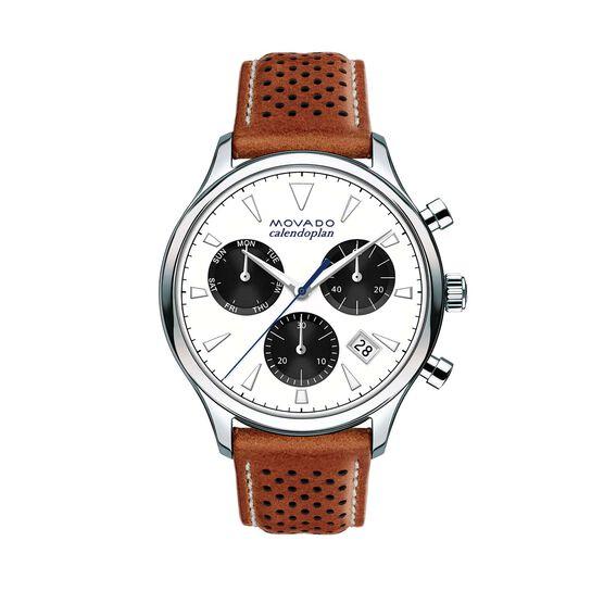 Movado Heritage Calendoplan Chrono Watch