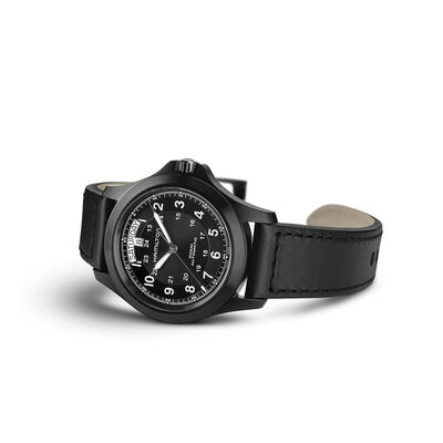 Hamilton Khaki King Day Date Auto Watch, 40mm