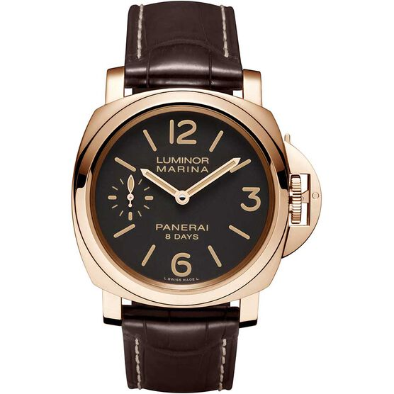 PANERAI Luminor Marina 18K Rose Gold Watch