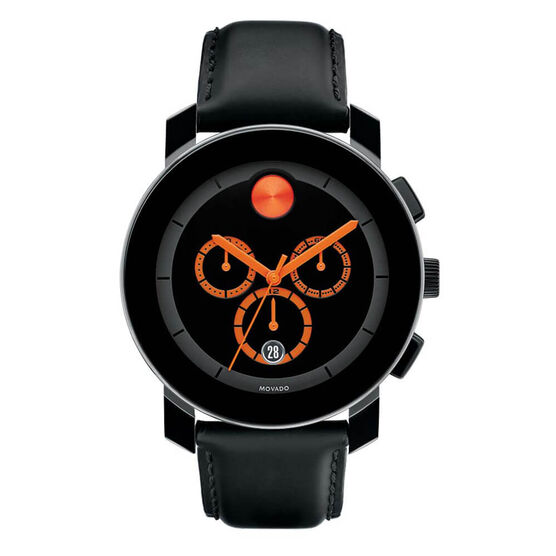 Movado Bold Black TR90 Watch