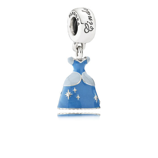 Pandora Disney Cinderella's Dress Charm