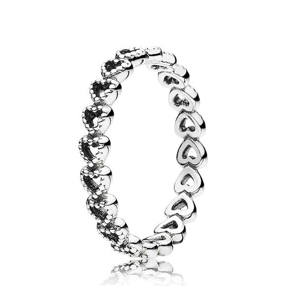 Pandora Linked Love Ring