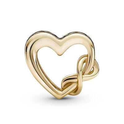 Pandora Love You Mom Infinity Heart Charm 14K