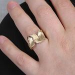 Toscano Ribbon Ring 14K