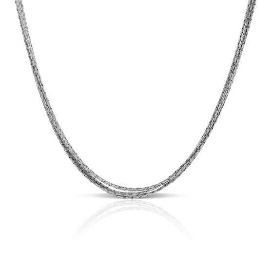 """Toscano Sparkle Necklace 14K, 18"""""""