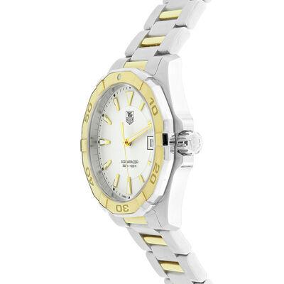 Pre-Owned TAG Heuer Aquaracer Watch, 41mm, 18K & Steel