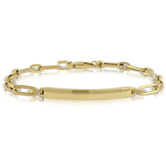 "Toscano Bar Bracelet 14K, 8"""