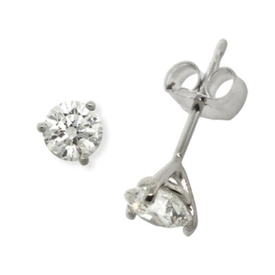Ikuma Canadian Diamond Earrings 14K, 3/4 ctw.