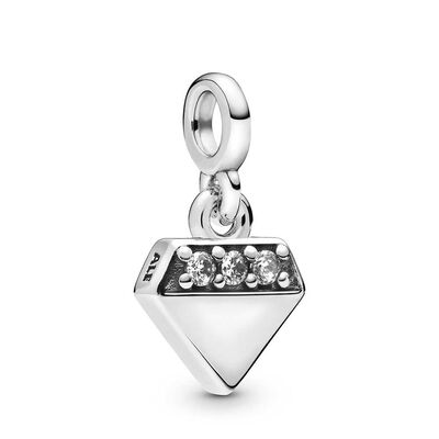 Pandora Me My Bright 'Diamond' CZ Dangle Charm