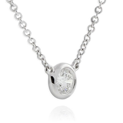 Signature Forevermark Diamond Necklace 18K