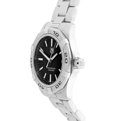 Pre-Owned TAG Heuer Aquaracer Black Dial Watch, 39mm