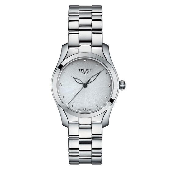 Tissot T-Wave T-Lady Diamond Markers Quartz Watch
