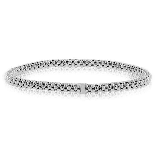 Toscano Stretchy Bangle Bracelet 14K