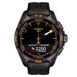 Tissot T-Touch Connect Solar Black PVD Titanium Watch, 47.5mm