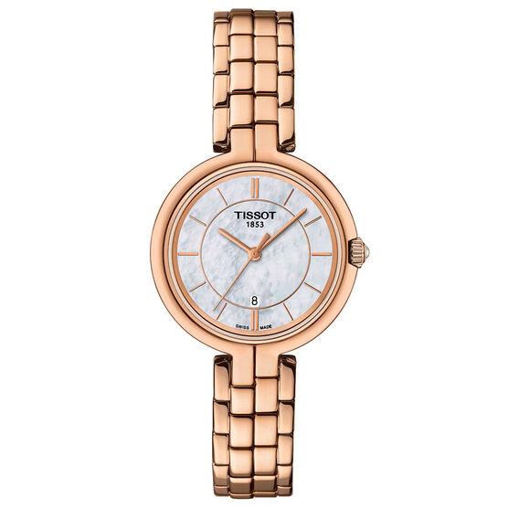 Tissot Flamingo T-Lady Rose PVD Quartz Watch