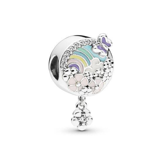 Pandora Flower Color Story Enamel & CZ Charm