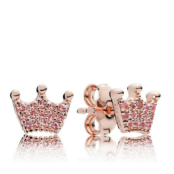 PANDORA Rose™ Pink Enchanted Crystal Stud Earrings