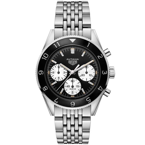 TAG Heuer Heritage Caliber Heuer 02 Automatic  Chronograph Watch 42mm