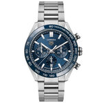 TAG Heuer Carrera Heuer 02 Automatic Mens Blue Steel Watch